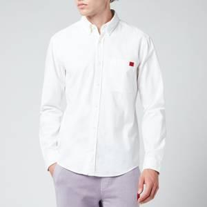 HUGO Men's Evito Shirt - Open White