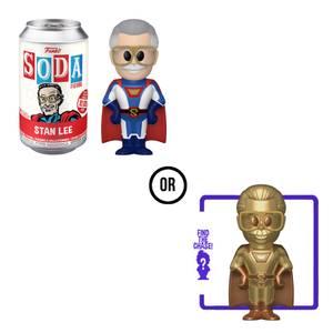 Superhero Stan Lee Vinyl Soda Figure in Collector Can