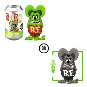 Rat Fink Vinyl Soda Figure in Collector Can