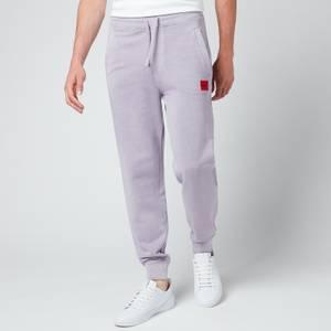 HUGO Men's Logo Patch Jogger Pants - Pastel Purple