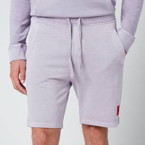 HUGO Men's Logo Patch Sweat Shorts - Pastel Pink