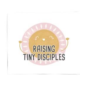 Raising Tiny Disciples Fleece Blanket