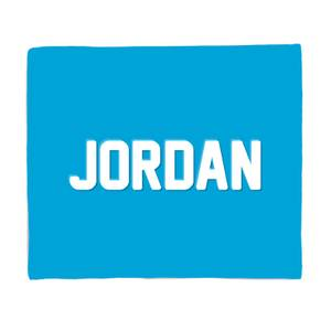 Embossed Jordan Fleece Blanket