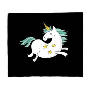 Flying Unicorn Fleece Blanket