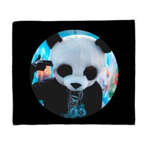 Ghetto Panda Fleece Blanket