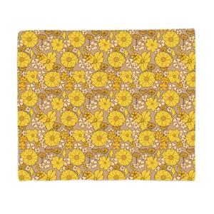 60s Wallpaper Fleece Blanket