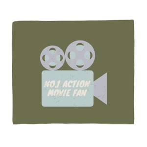 No.1 Action Movie Fan Fleece Blanket