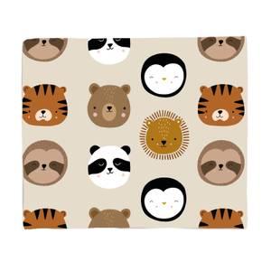 Animal Pattern Fleece Blanket