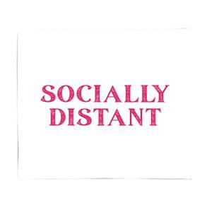 Socially Distant Fleece Blanket