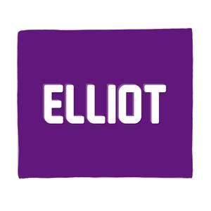 Embossed Elliot Fleece Blanket