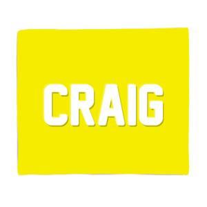 Embossed Craig Fleece Blanket