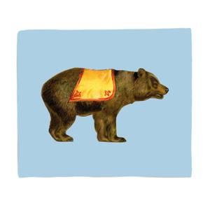 Circus Bear Fleece Blanket