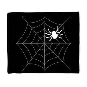 Spider Web Large Fleece Blanket