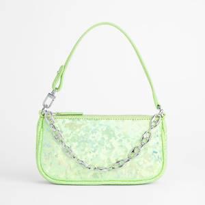 BY FAR Women's Mini Rachel Paradisco Hologram Leather Bag - Paradisco