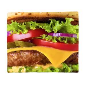 Burger Fleece Blanket