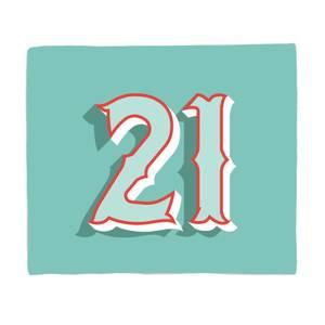 21 Fleece Blanket