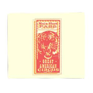 Great American Circus Bed Throw