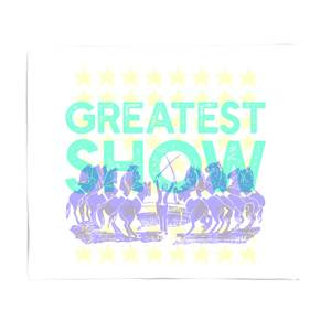 Greatest Show Bed Throw