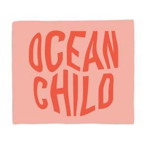 Ocean Child Bed Throw