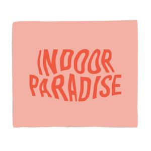 Indoor Paradise Bed Throw