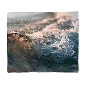 Wave Texture Bed Throw
