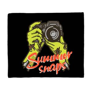 Summer Snaps Bed Throw