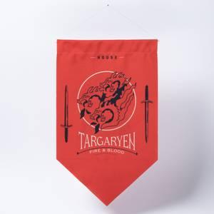 Game of Thrones House Targaryen Wall Flag