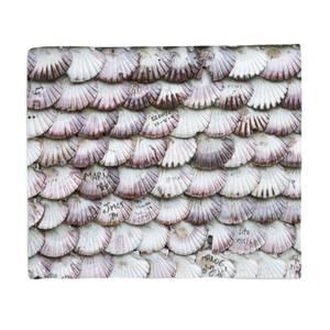 Seashells Bed Throw