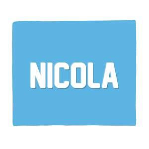 Embossed Nicola Bed Throw