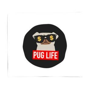 Pug Life Bed Throw