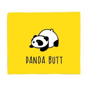 Panda Butt Bed Throw