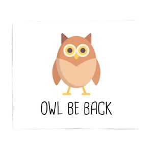 Owl Be Back Bed Throw
