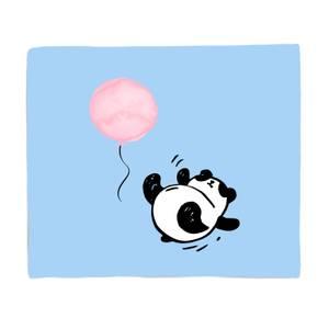 Panda Tumble Bed Throw