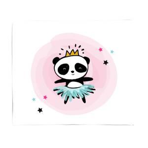 Princess Panda Bed Throw