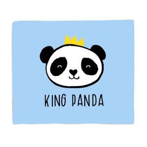 King Panda Bed Throw