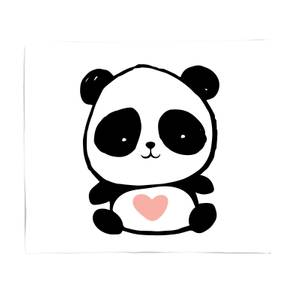 Baby Panda Bed Throw