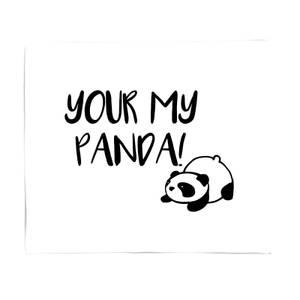 Your My Panda Bed Throw