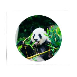 Greedy Panda Bed Throw