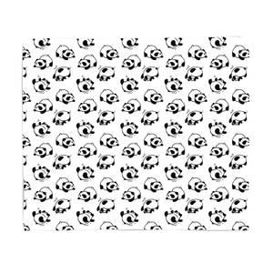 Rolling Panda's Bed Throw