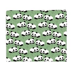 Panda Slumber Party Bed Throw