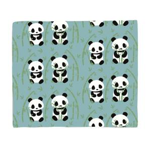 Panda Couple Bed Throw