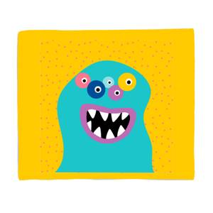 Happy Monster Bed Throw