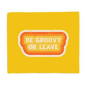 Be Groozy Or Leave Bed Throw