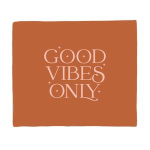 Good Vibes Only Bed Throw