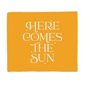 Here Comes The Sun Bed Throw