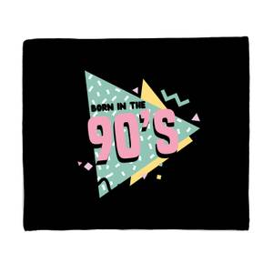 Born In The 90s Graphic Bed Throw