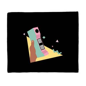 'Call Me' Graphic Bed Throw