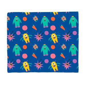 Monster Party Bed Throw
