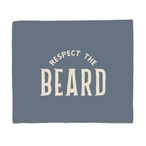 Respect The Beard Bed Throw