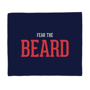 Fear The Beard Bed Throw